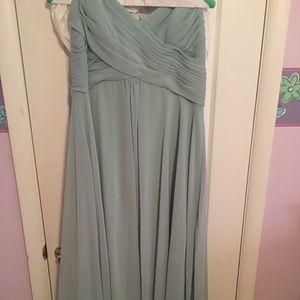 Allure Bridal Size 20 Seafoam Gown